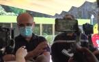 L'inauguration du centre de vaccination ambulatoire de l'espace Reydellet