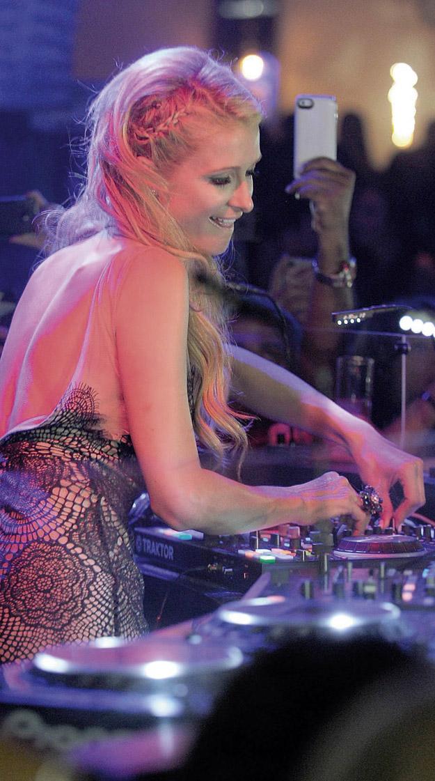 La Réunion au rythme du Paris Hilton Gold Rush Tour