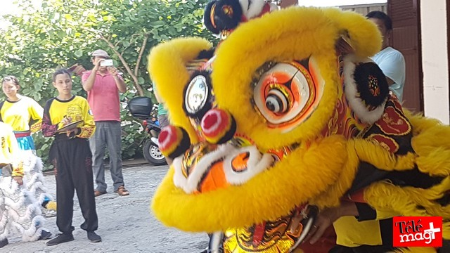 Nouvel An chinois: Danse avec les lions