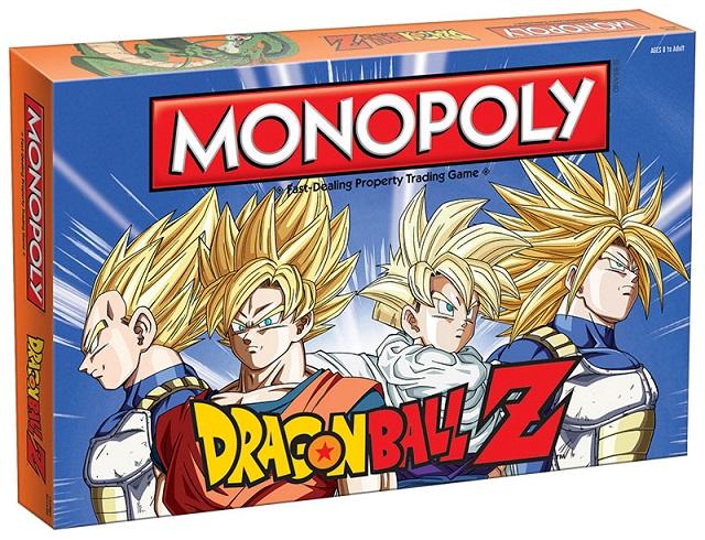 Avis aux fans: le monopoly Dragon Ball Z arrive bientôt!