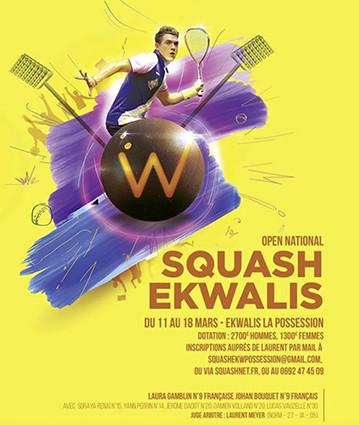 Squash : 4ème Open National Prestige
