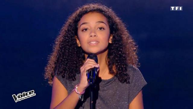 Avec sa reprise de James Brown, Lucie 17 ans, impressionne le jury!