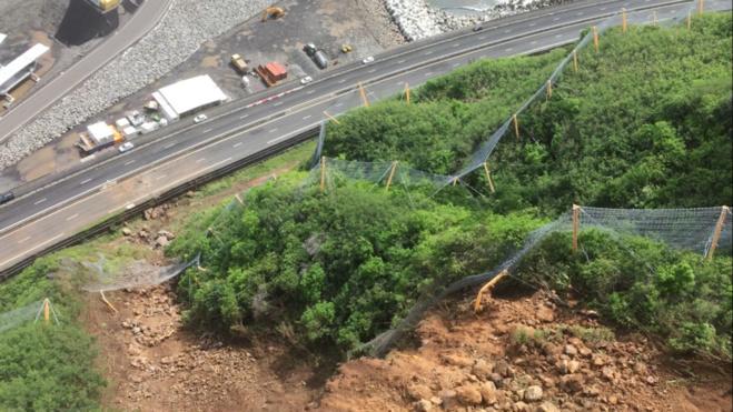 Info Route: la réouverture de la Route du Littoral sur 4 voies prévue ce weekend