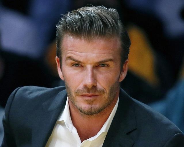 Pour son prochain rôle au cinéma, David Beckham casse son image de playboy!