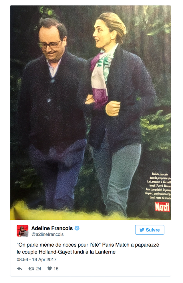 François Hollande et Julie Gayet : des photos du couple