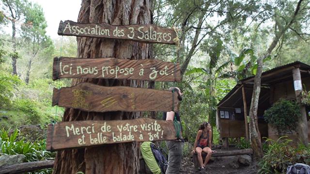 Bivouac et Col Choupette à Cilaos 1ère partie