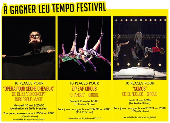 Gagnez vos places pour Leu Tempo Festival