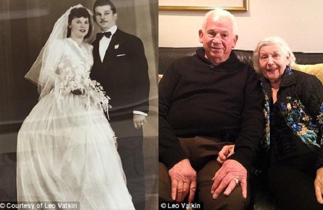 Mariés depuis 69 ans, ils meurent à 40 minutes d'intervalle