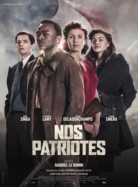 """De retour au cinéma, Louane dévoile l'affiche de """"Nos Patriotes"""""""