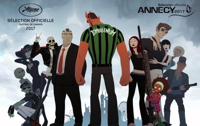Zombillénium : l'animation réunionnaise à Cannes