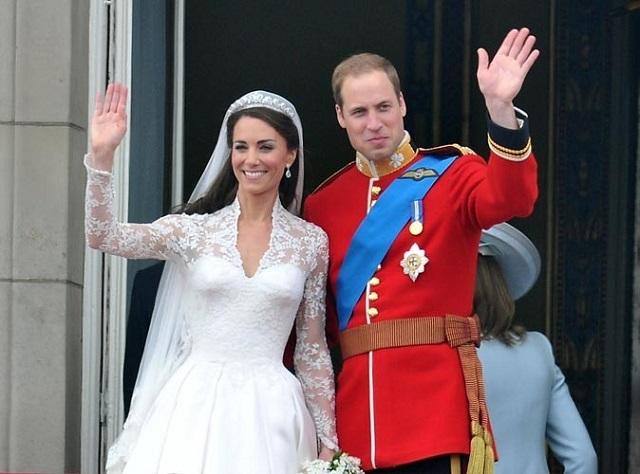 Kate Middleton et le Prince William fêtent leur 6 ans de mariage!