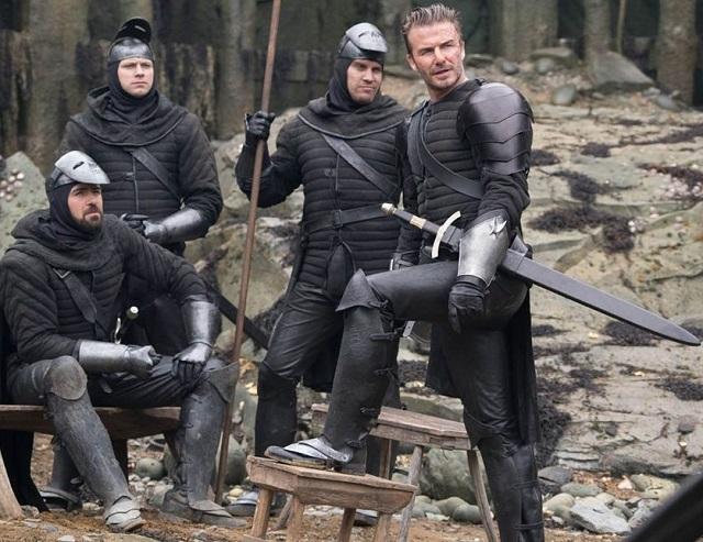 Le roi Arthur : la prestation de David Beckham déjà critiquée