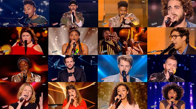 """The Voice 6 : découvrez le clip des 16 finalistes sur """"Shape Of You"""" d'Ed Sheeran"""