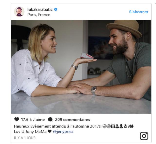 Luka Karabatic et Jeny Priez bientôt parents pour la première fois