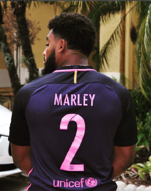Le petit-fils de Bob Marley signe chez les Redskins de Washington