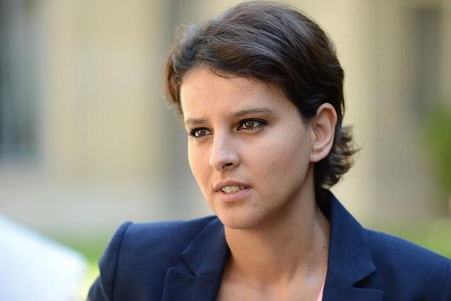 La réaction de Najat Vallaud-Belkacem à l'annonce de son successeur