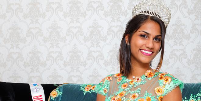 Cyrielle Soupramayen : Miss Saint-Denis 2017