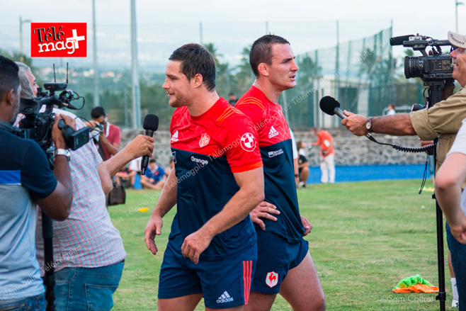 Le XV de France à La Réunion, les photos et interviews