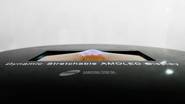 Un écran étirable pour un futur Galaxy