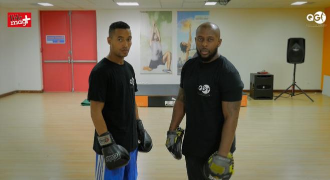 Séance de sport avec QG: Boxe anglaise
