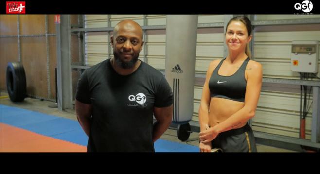 Séance de sport avec QG: Boxing Girl