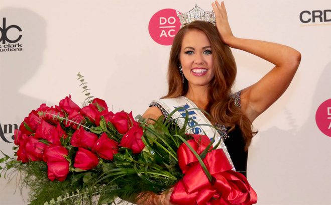 Cara Mund, nouvelle Miss America 2018