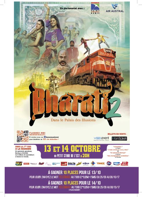 Bharati 2 à La Réunion... pour de vrai !