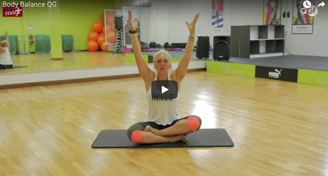 Séance de sport le QG : body balance