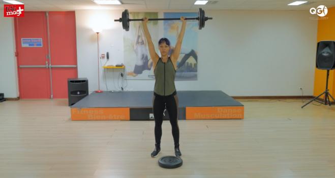 Séance de sport le QG : Le Body Pump