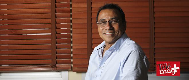 Ibrahim Patel, président de la CCIR -©Julien Bourbon