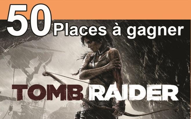 """50 places à gagner pour """"Tomb Raider """" avec le réseau ICC"""