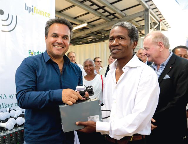 Une première unité mobile photovoltaïque à Madagascar