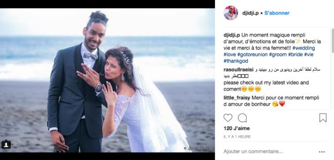 Mariage : Toutes nos félicitations à Vanille et Hadjee !