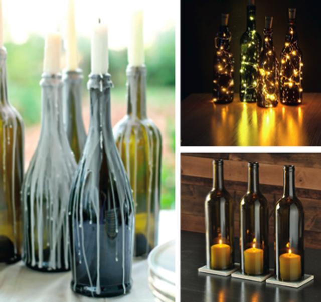Les bouteilles se décorent !