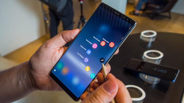 Le design du Galaxy Note 9 dévoilé par erreur