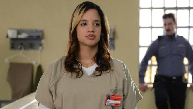 """Dascha Polanco, star dans la série """"Orange Is the New Black"""" pose nue et revendique ses rondeurs"""
