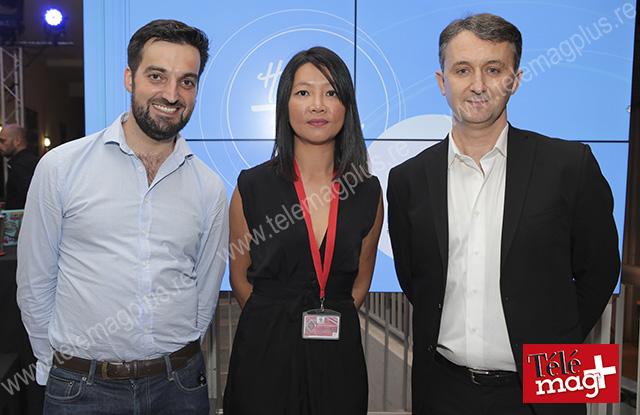 Pierre Villetard, ADRUN, Caroline Legagneur, directrice ADRUN et Sylvain Peguillan, directeur général de Cirano - ©Julien Bourbon