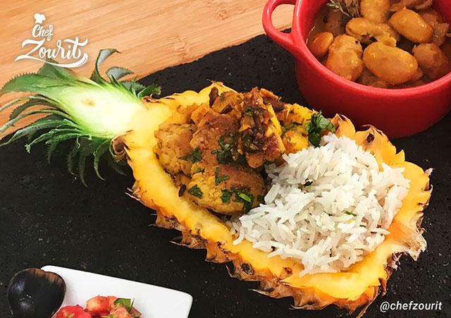 Sauté Porc Ananas