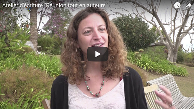 """Video - Atelier d'écriture """"Réunion tout en auteurs"""""""