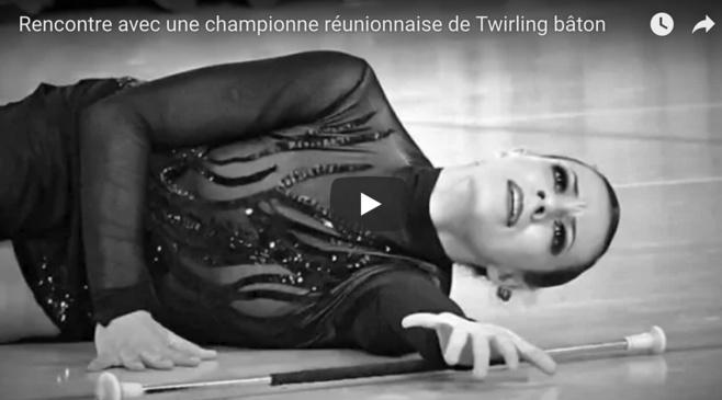 Vidéo - Rencontre avec une championne réunionnaise de Twirling bâton