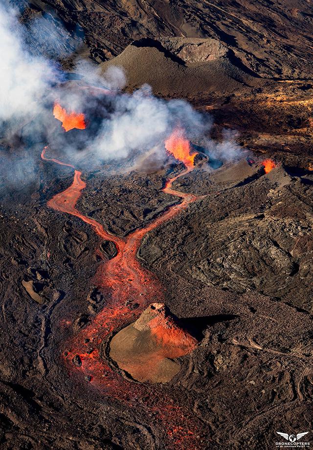 Effets insoupçonnés du volcan