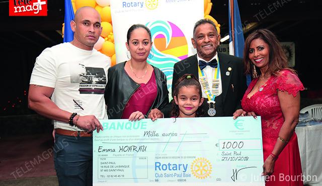 Rotary : Un coeur pour Emma