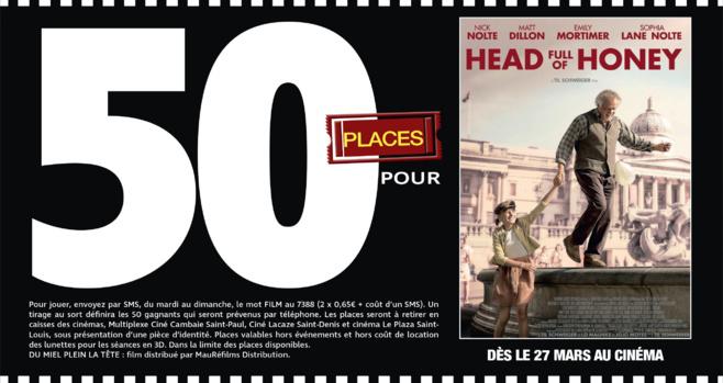 """Cinéma - 50 places à gagner pour """" HEAD FULL OF HONEY """" avec le réseau Mauréfilms"""