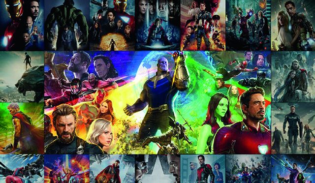 Les Films du MARVEL CINEMATIC UNIVERSE