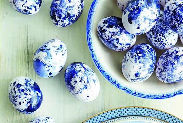 Des oeufs de Pâques de décoration !
