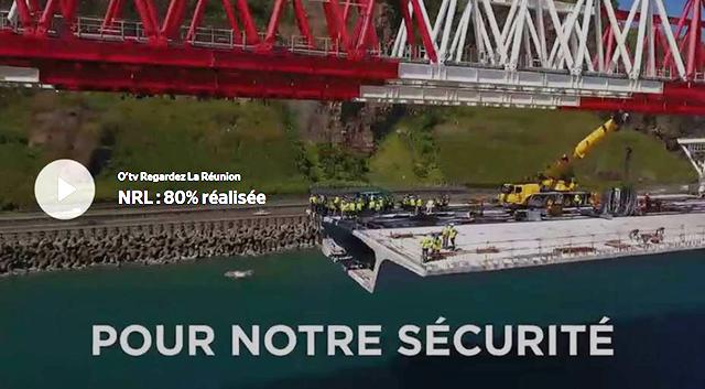 NRL : 80% réalisée