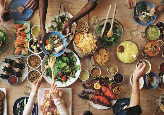 Manger sain en se fiant au goût