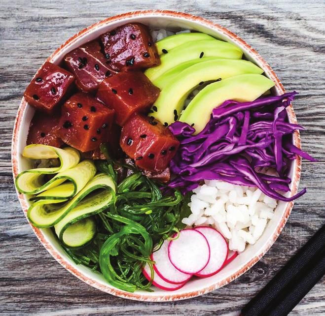 Le poke bowl, ou le sushi déstructuré