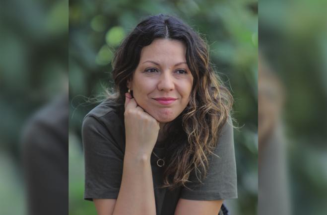 Elsa Dahmani, réalisatrice et fondatrice de l'association Cinékour