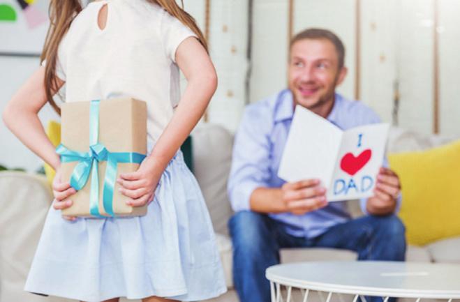 La fête des pères, de l'enfance à l'âge adulte